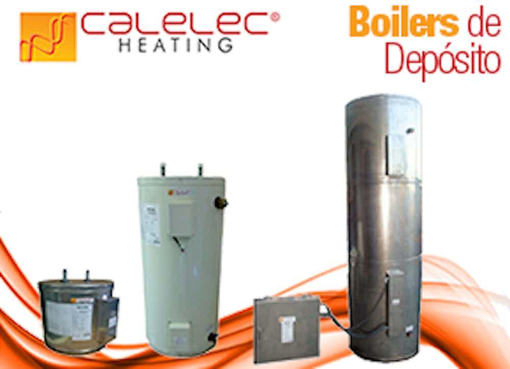 Boiler Eléctrico Industrial, Comercial y Residencial de Depósito Línea BE